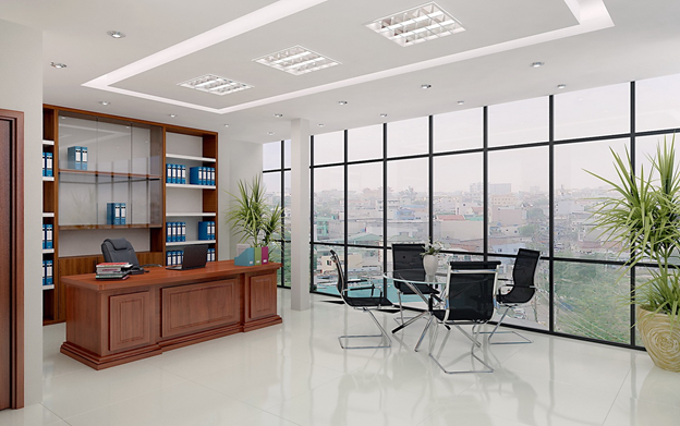 An example of representative office for meetings with partners